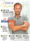 MEA Markets Magazine Recognizes Dr. Andy Khawaja - 'The $18 Billion Man' (Photo: Business Wire)
