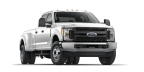 Ford F-350 Super Duty 4x4 Crew Cab XL Morris' F-350 dual-rear-wheel configuration is built for serious towing and hauling with a fifth-wheel and gooseneck hitch prep package, BoxLink and LED box lighting. (Photo: Business Wire)