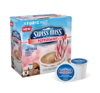 New limited edition Swiss Miss® Peppermint Hot Cocoa mix K-Cup® pods, deliver a refreshing flavor twist with a cool blend of peppermint and creamy chocolate. (Photo: Business Wire).