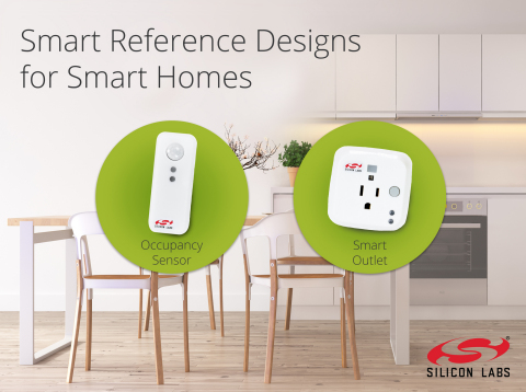 Silicon Labs Delivers Occupancy Sensor and Smart Outlet Reference Designs for Connected Homes. (Photo: Business Wire)