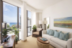 Hyatt Centric Waikiki Beach offers a modern guest room design with dramatic floor-to-ceiling windows. (Photo: Business Wire)