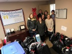 Banyan Technology employees delivering gifts for families in Lorain County. (Photo: Business Wire)