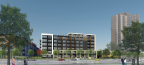 Brickstone Partners 3100 Lake Street proposed 6-story scheme (Photo: Business Wire)