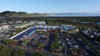 Solar panels on Cost Plus Plaza shopping center in Larkspur, CA (Photo: Business Wire)