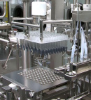 Operations in the company's dedicated clinical syringe filling line at Vetter Development Services USA, Inc. in Skokie near Chicago. (Photo: Business Wire)