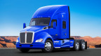 Kenworth truck fitted with Alcoa® wheels, courtesy of Kenworth Truck Company (Photo: Business Wire)