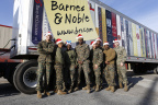Barnes & Noble donated more than $450,000 worth of books and toys to the Marine Toys foundation in New York City and Reno, NV (Photo Credit: Jeff Zelevansky for Barnes & Noble).