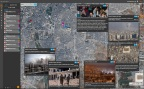 The BlackSky platform helps customers observe, analyze, and act on events critical to their global operations. The picture above shows civilian evacuations in Aleppo Syria with real-time, related social media data streams from the area to provide greater context. (Photo: Business Wire)