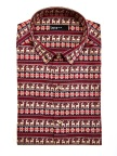 Find incredible gifts for last-minute holiday shopping at Macy's; Bar III Reindeer Shirt, $65 (Photo: Business Wire)