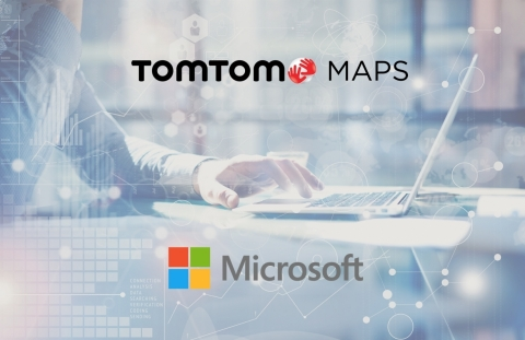 TomTom and Microsoft Join Forces to Bring Location-Based Services to Azure (Graphic: Business Wire)