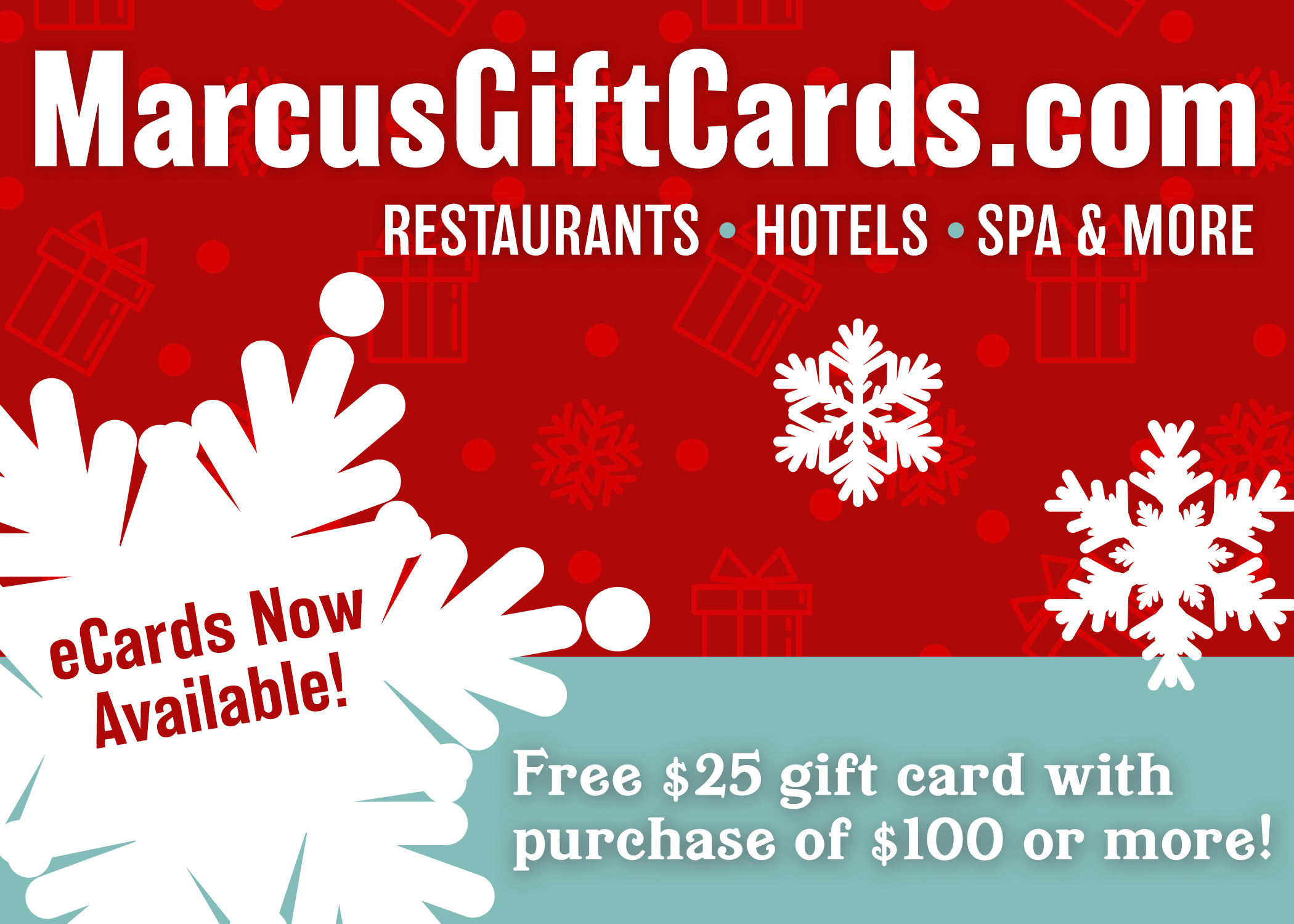 The Perfect Holiday Gift is Just a Click Away - Marcus® Hotels ...