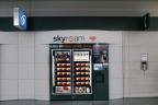 Skyroam's global WiFi rental vending machine - SFO international terminal, boarding area G, near Gate 91.