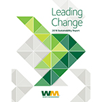 Waste Management's 2016 Sustainability Report
