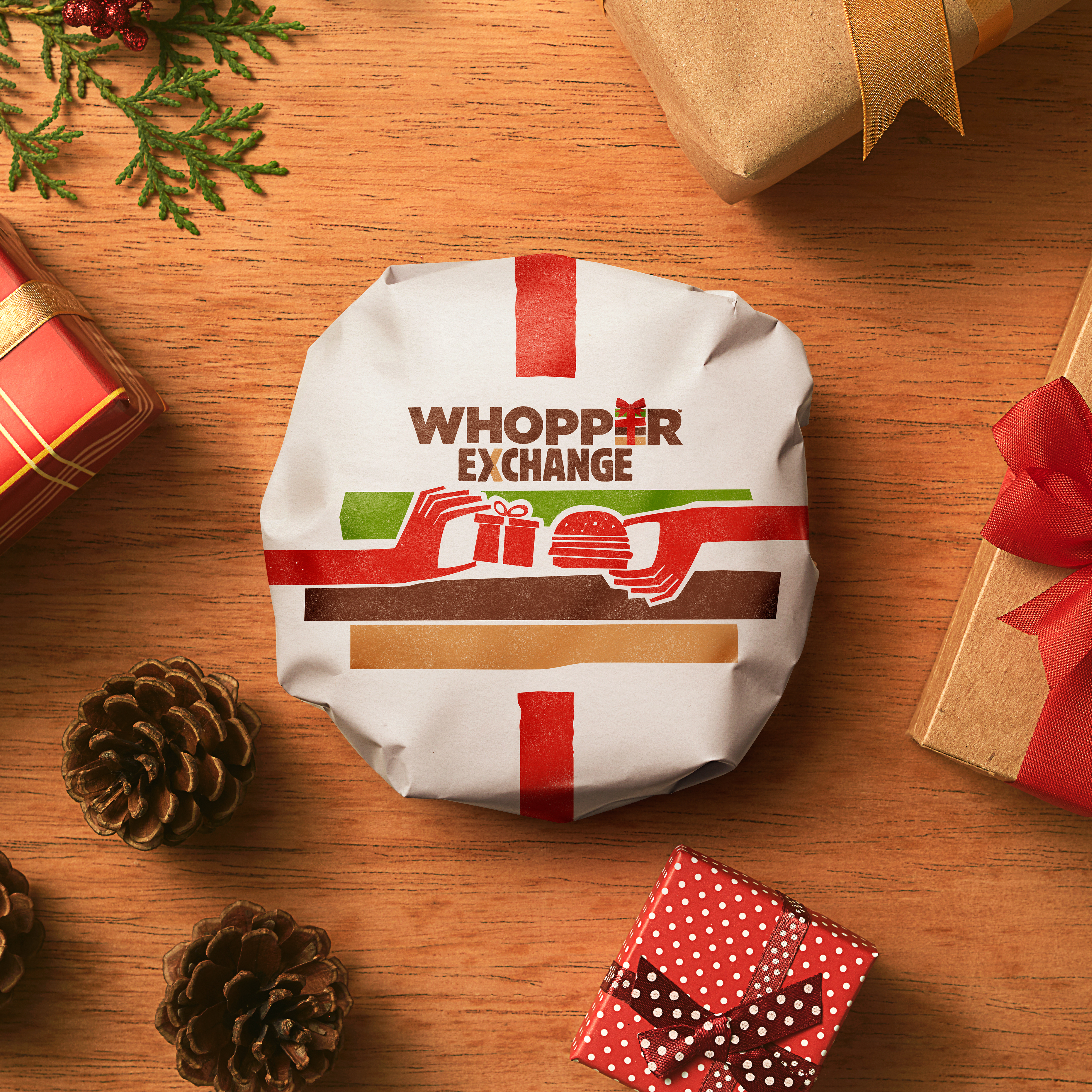 BURGER KING® Exchanges Lousy Holiday Gifts for WHOPPER® Sandwiches ...