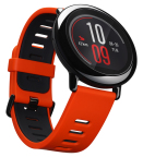 The Amazfit Pace is a GPS-enabled smartwatch with on-board media storage for phone-free running, heart-rate tracking, notifications, watch apps and an always-on LCD touch screen. (Photo: Business Wire)