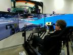 Sam Schmidt participates in the 2016 iRacing Pro Race of Champions using race simulator equipped with semi-autonomous technology designed by engineers from Arrow Electronics. (Photo: Business Wire)