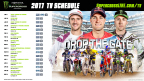 Monster Energy Supercross announces 2017 schedule. (Photo: Business Wire)
