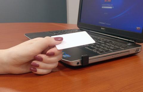 pcProx® 13.56 MHz Nano reader (Photo: Business Wire)