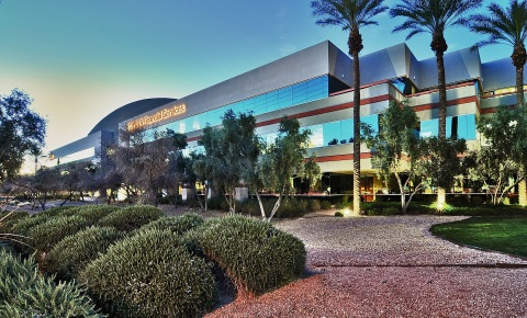 Columbia has exited the Phoenix and Dallas markets after selling SanTan Corporate Center (pictured) and CVS Health Tower in Dallas for $109 M in total gross proceeds. (Photo: Business Wire)