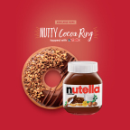 The Nutty Cocoa Ring is now available at participating Krispy Kreme shops. (Photo: Business Wire)