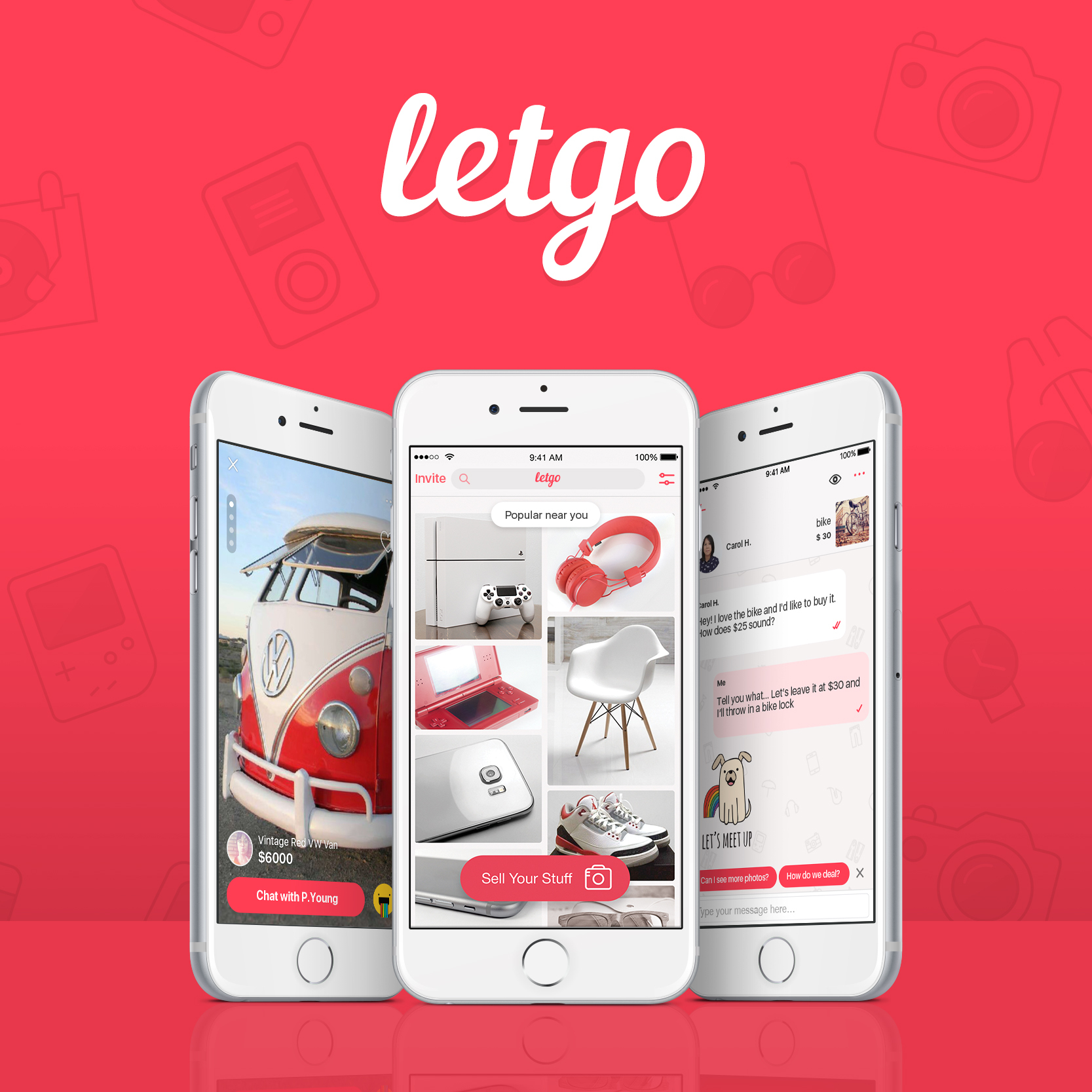 letgo's free app is the fastest growing mobile marketplace to buy and sell locally(Photo: Business Wire)