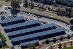 549 kW Solar PV Canopy Structure in Alameda (Photo: Business Wire)