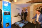 New Nissan Electric Café opens in Paris as the brand celebrates three billion EV kilometres worldwide (Photo: Nissan)