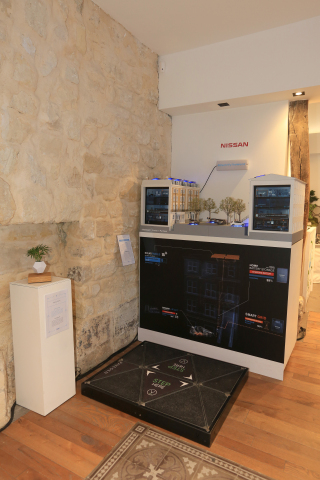 New Nissan Electric Café opens in Paris as the brand celebrates three billion EV kilometres worldwid ...