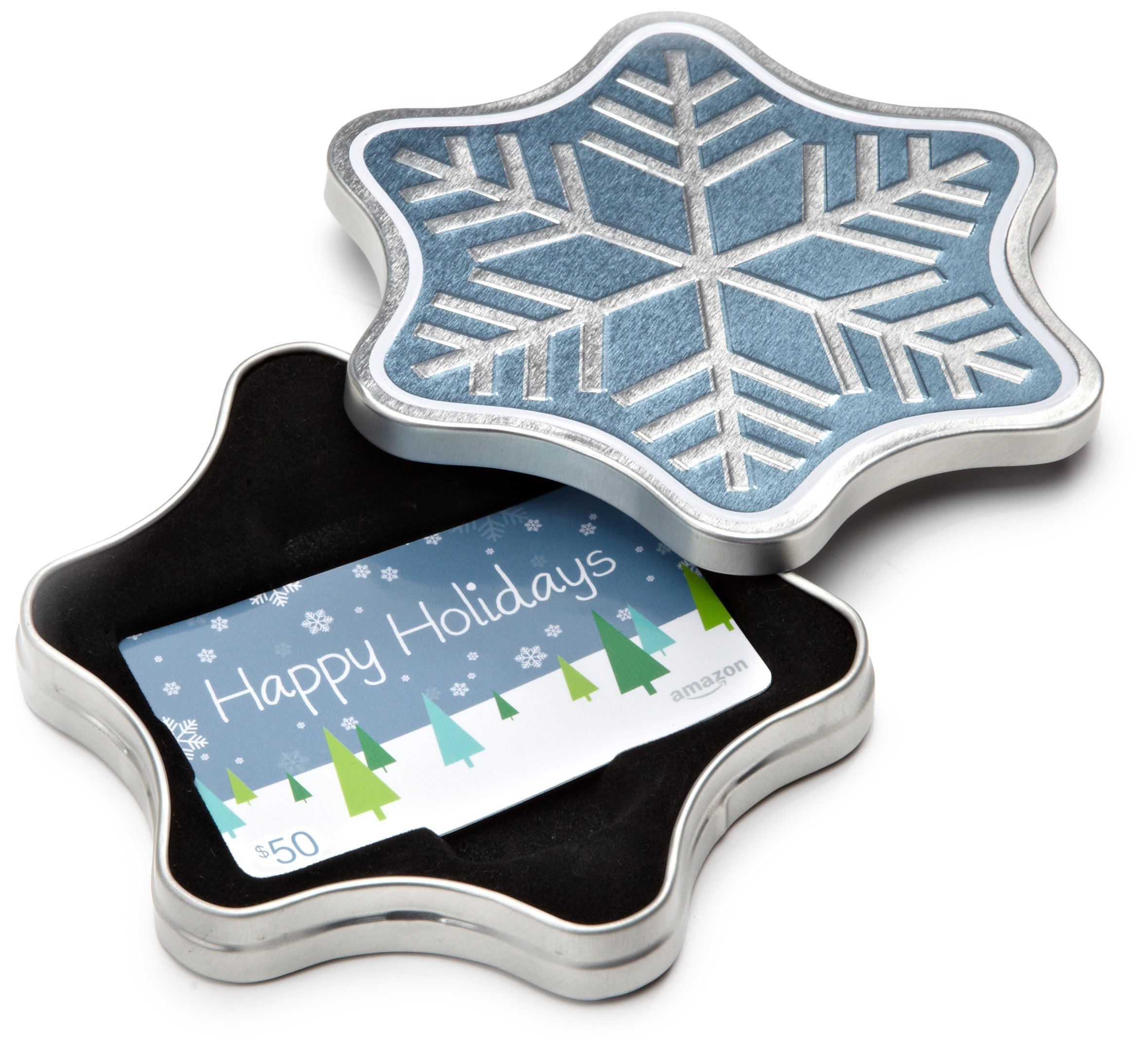 from a sparkling snowflake tin to a caroling canines ecard amazoncom gift cards are the perfect gift this holiday season business wire