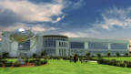 Rendering of OneWeb Exploration Park, Florida manufacturing facility to begin production in 2018 (Graphic: Business Wire)