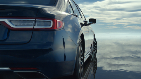 """""""Crafted"""" is the name of one of the new Lincoln television spots showcasing the Continental. (Photo: Business Wire)"""