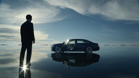 """""""That's Continental"""" is Lincoln's new campaign starring Matthew McConaughey. (Photo: Business Wire)"""