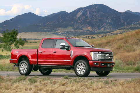 2017 F-Series Super Duty (Photo: Business Wire)