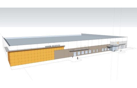 A bird's eye view rendering of Parker Products new facility. (Photo: Business Wire)