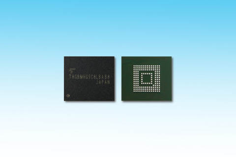 Toshiba: e-MMC embedded NAND flash memory product for automotive applications supporting AEC-Q100 Grade2 requirements (Photo: Business Wire)