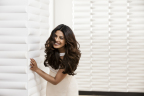 Pantene's new Global Brand Ambassador Priyanka Chopra behind-the-scenes at her Pantene advertising shoot. (Photo: Business Wire)