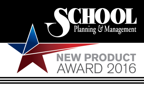 Mojo Networks' C-130 Access Point Awarded a School Planning & Management Gold New Product Award 2016 (Graphic: Business Wire)