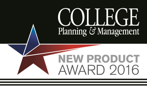 Mojo Networks' C-130 Access Point Awarded a College Planning & Management Gold New Product Award 2016 (Graphic: Business Wire)