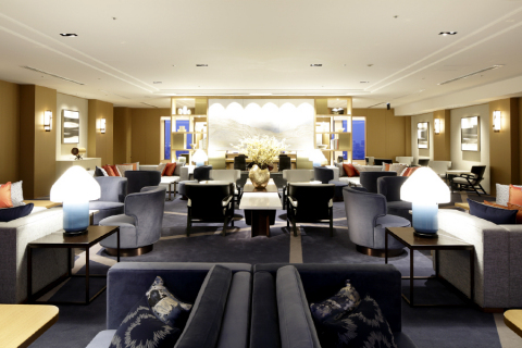 Guests staying in newly established Premier Grand Club Floors will have a privilege to use the Club Lounge on 45th floor with a wide range of concierge services. (Photo: Business Wire)