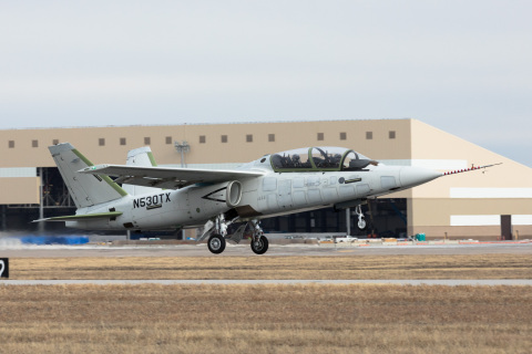 Scorpion takes its maiden flight (Photo: Business Wire)
