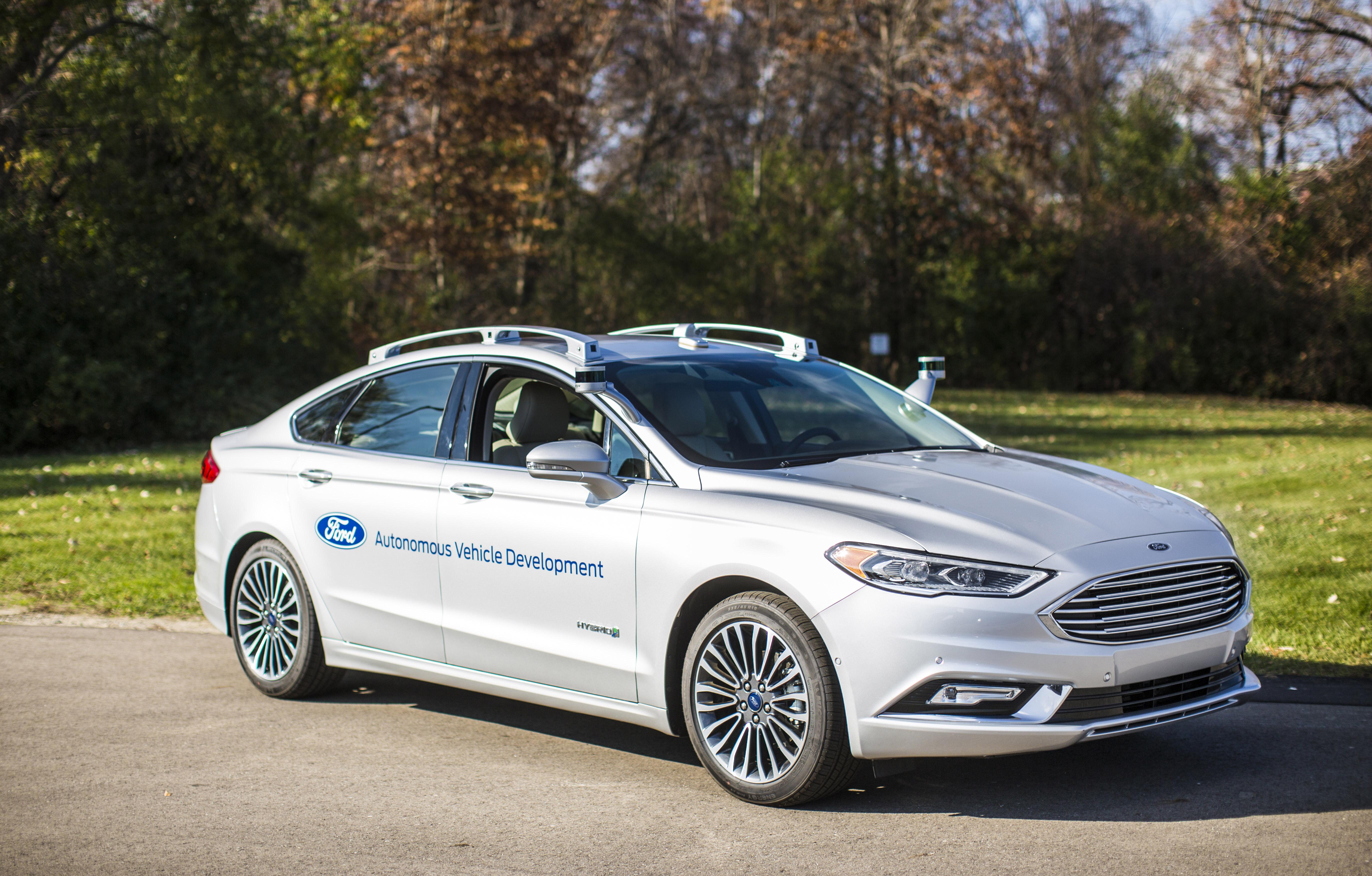 Ford Debuts Next-Generation Fusion Hybrid Autonomous Development ...