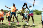 Kids at Boys & Girls Clubs across the country show their excitement to reach 1 million minutes of activities. (Photo: Business Wire)