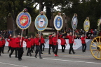 Wells Fargo honors and thanks military members and the American Red Cross for the supportive services it provides to the military at the 2017 Rose Parade®. (Photo: Business Wire)