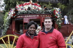 Veterans Major Lynette Jones and Sergeant Oliver Campbell were among Wells Fargo's special guests at the 2017 Rose Parade® to honor and thank military members for their service. (Photo: Business Wire)