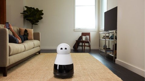 Kuri is designed with personality, awareness, and mobility, and adds a spark of life to any home. Priced at $699, Kuri is available for pre-order in the U.S. with a $100 deposit starting today at heykuri.com. (Photo: Business Wire)