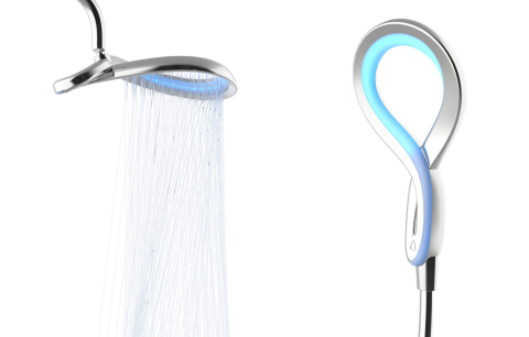HYDRAO Loop smart shower set (Photo: Business Wire)