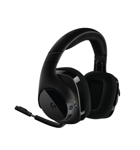 Logitech G unleashes advanced audio performance with new Logitech G533 PC Wireless Gaming Headset featuring Patent-Pending Pro-G Drivers and DTS Headphone:X 7.1 Surround Sound (Photo: Business Wire)