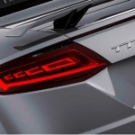 OLED rear lights: OLED technology enables completely new rear light designs with 3D effects. (Photo: Business Wire)