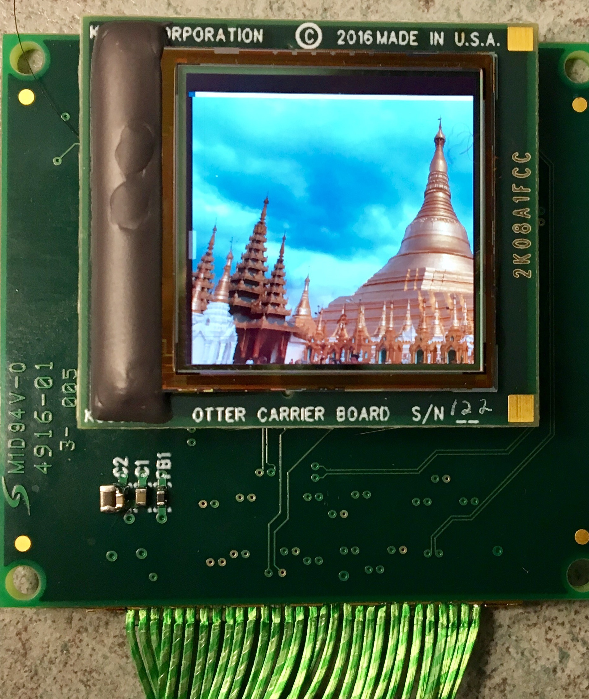 Kopin Debuts Lightning OLED Microdisplay With 2k x 2k Resolution for