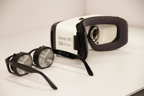 Kopin's New Pantile Thin Optic Modules Reduce Size of VR Systems by Over 50% (Photo: Business Wire)